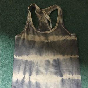 Lululemon swiftly tank tie dye size 8